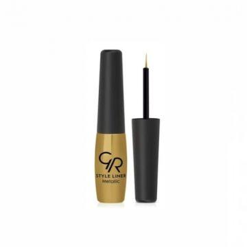 Golden Rose Style Metallic Eyeliner - 02