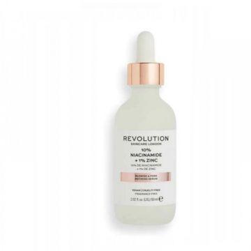 Makeup Revolution Skincare 10% Niacinamide + 1% Zinc Blemish & Pore Refining Serum Super Sized 60ml