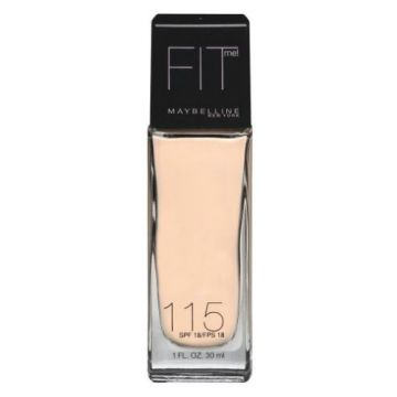 Maybelline FIT ME FOUNDATION Dewy+Smooth - 115 IVORY - 1116 - 3600530746514