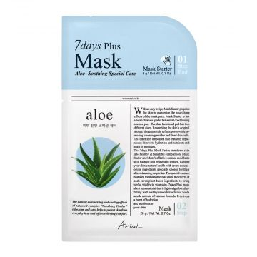 Ariul 7days Plus Aloe Soothing Special Mask 3g - 8809301763322