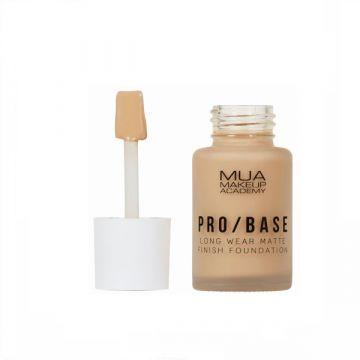 MUA Pro Base Long Wear Matte Finish Foundation - 144 - 5055402966909