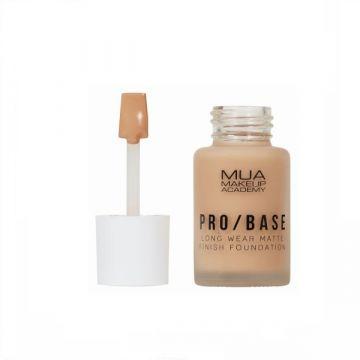 MUA Pro Base Long Wear Matte Finish Foundation - 154 - 5055402966947