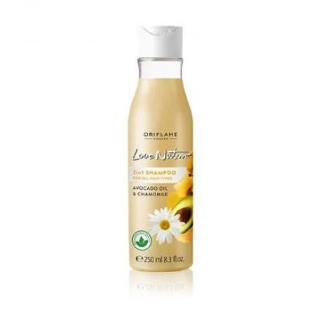 Oriflame Love Nature 2in1 Shampoo For All Hair Types  250ml - 32624