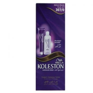Wella Koleston Single 307/0 NE MEDIUM BLONDE - 4056800838714