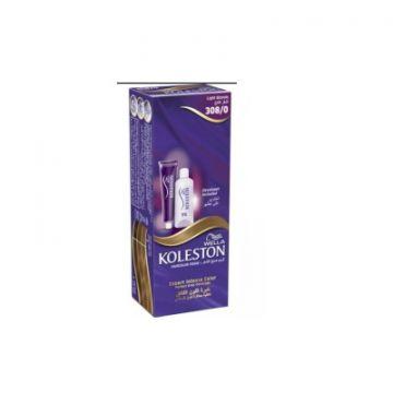 Wella Koleston Semi Kits 308/0 Light Blonde - 4056800869046