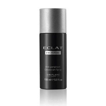 Oriflame Eclat Homme Anti-perspirant Deodorant Spray 150ml - 31698