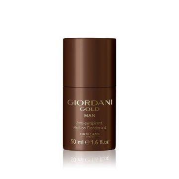 Oriflame Giordani Gold Man Anti-perspirant Roll-On Deodorant 50ml - 32176
