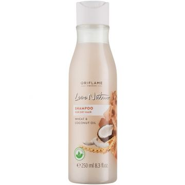 Oriflame Love Nature Shampoo For Dry Hair Wheat & Coconut OIl - 250ml - 32618