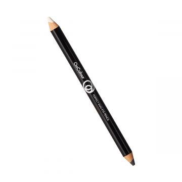 Oriflame OnColour Perfect Duo Eye Pencil - 36087 Black & White