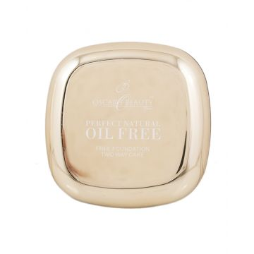 Oscar Beauty Oil Free Two Way Cake Face Powder - 01 Natural