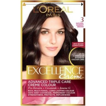 L`Oreal Excllence 3 Dark Chestnut Brown - 5