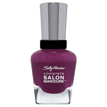 Sally Hansen Complete Salon Manicure Nail Polish -SM-414 Cherry, Cherry, Bang, Bang