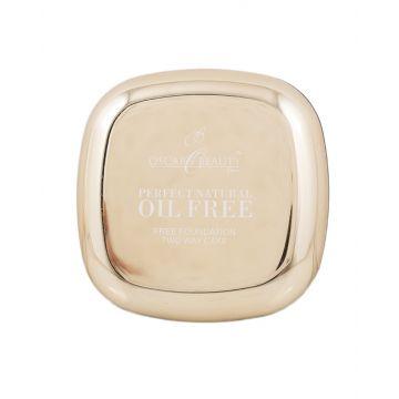 Oscar Beauty Oil Free Two Way Cake Face Powder - 04 Beige
