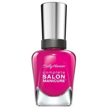 Sally Hansen Complete Salon Manicure Nail Polish -SM-542 Cherry Up