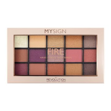 Makeup Revolution My Sign Fire eyeshadow palette it is exclusively available at just4girls.pk