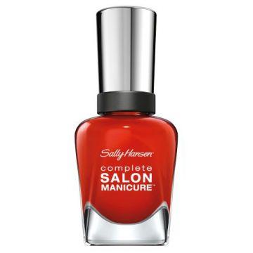 Sally Hansen Complete Salon Manicure Nail Polish -SM-554 New Flame