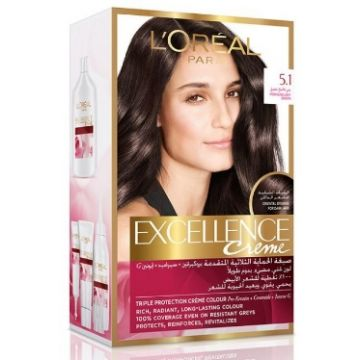 L'Oreal Excellence Creme 5.1 Light Profound Brown - 599.101386.00.000
