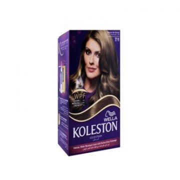 Wella Koleston Kit 7/1 Medium Ash Blonde MENAP