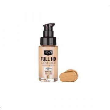 Hean Full HD Cover Liquid Foundation - 702 Nude