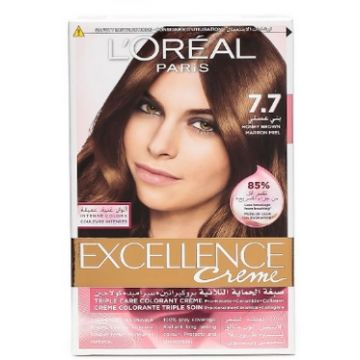 L'Oreal Excellence Creme 7.7 Honey Brown - 599.100042.00.000