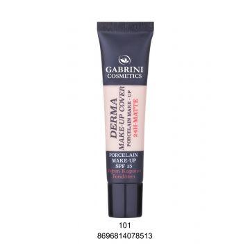 Gabrini Derma Makeup Cover Foundation # 101 40ml - 8696814078513