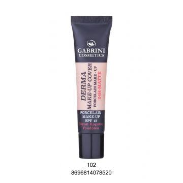Gabrini Derma Makeup Cover Foundation # 102 40ml - 8696814078520