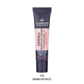 Gabrini Derma Makeup Cover Foundation # 103 40ml - 8696814078537