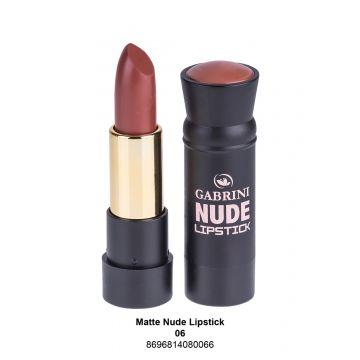 Gabrini Nude Matte 01 Lipstick # 06 - 10-04-00006