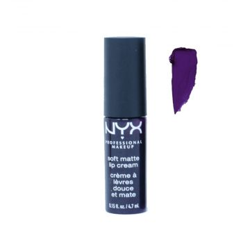NYX Mini Soft Matte Lip Cream - Brussels - 4.7ml - MB