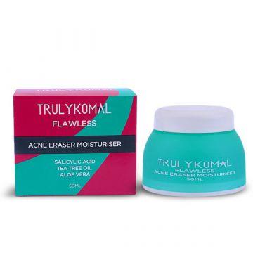 Truly Komal Acne Eraser Moisturiser Cream 50ml