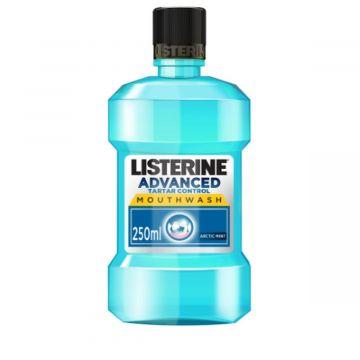 Listerine Advanced Tartar Control, Anti-Bacterial Antiseptic, Arctic Mint Mouthwash - 250ml - 3574661197326