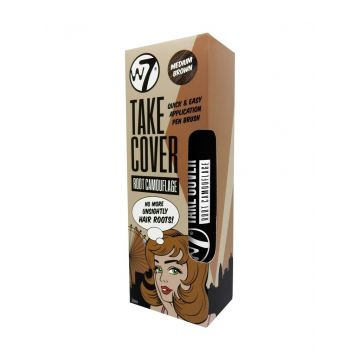 W7 Cosmetics Take Cover Root Camouflage 20ml - Medium Brown