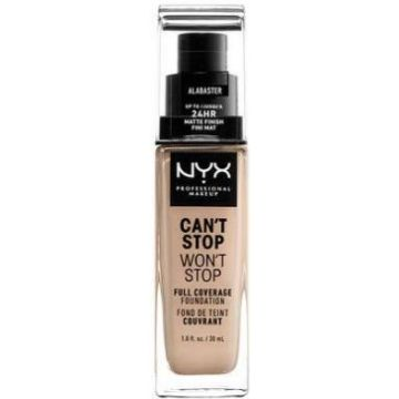 Nyx Can't Stop, Won't Stop Foundation - Alabaster