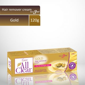 Caresse All Clear Hair Remover Cream (Gold) - 120gm
