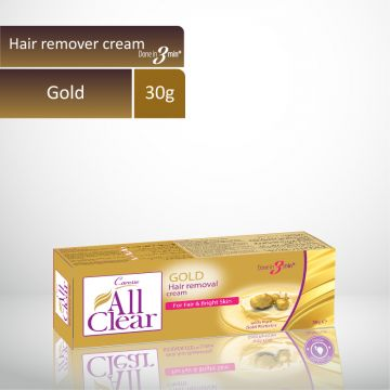 Caresse All Clear  Hair Remover Cream (Gold) - 30gm