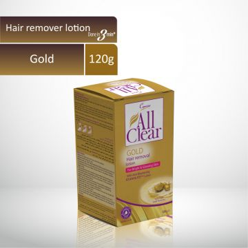 Caresse All Clear Hair Remover Lotion Large (GOLD) - 120gm