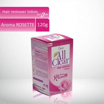 Caresse All Clear Hair Remover Lotion Large (Rosette) - 120gm