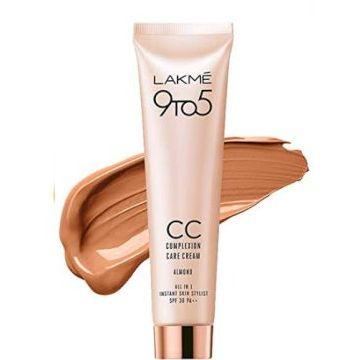 Lakme 9 to 5 Complexion Care Cream - Almond 30gm - 8901030655029