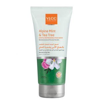 VLCC Alpine Mint & Tea Tree Gentle Refreshing Face Wash - 75ml