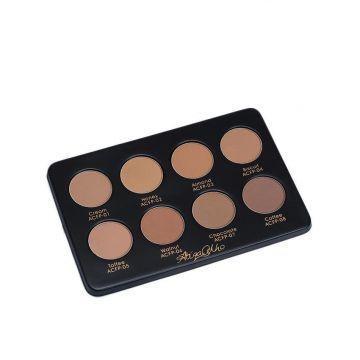 Atiqa Odho Color Cosmetics Face Powder & Contouring Kit - ACFP1-8