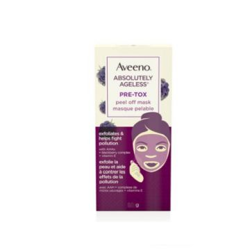 Aveeno Absolutely Ageless Pre-tox Peel Off Mask - 10g - US