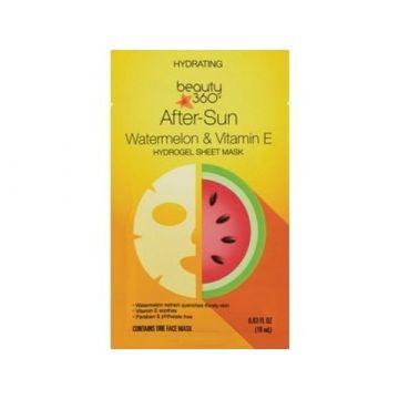 Beauty 360 Hydrating After-Sun Watermelon & Vitamins E Hydrogel Sheet Mask