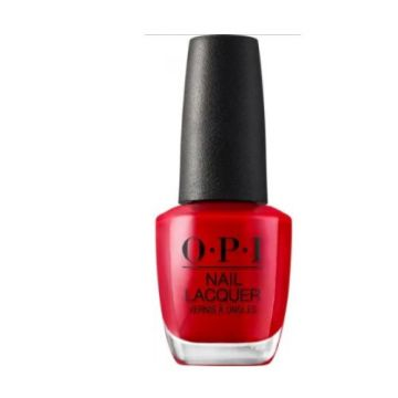 OPI Big Apple Red Nail Lacquer - NLN25