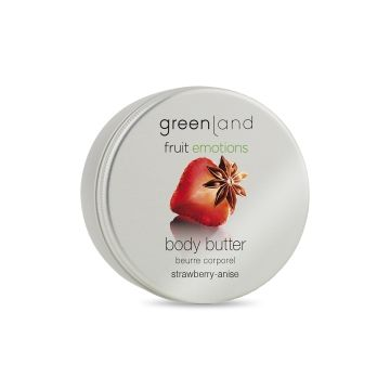Greenland Bodycare Fruit Emotions Body Butter Strawberry-Anise - 100 Ml