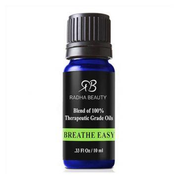 Radha Essential Oil Blends - Breathe Easy - 10ml