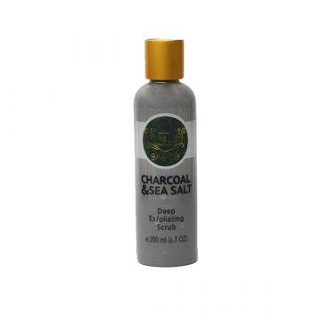 SL Basics Charcoal & Sea Salt Scrub - 200ml