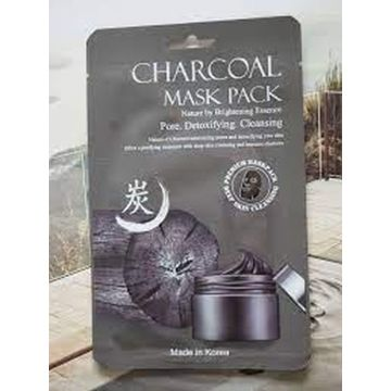 Charcoal Mask Pack Made In Korea