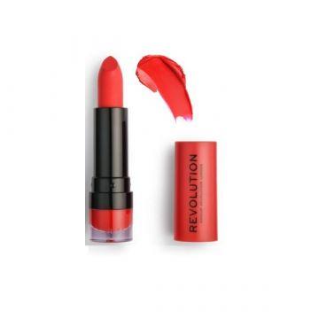Makeup Revolution Cherry 132 Matte Lipstick