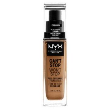 Nyx Can't Stop, Won't Stop Foundation - Cinnamon (CSWSF15.5)