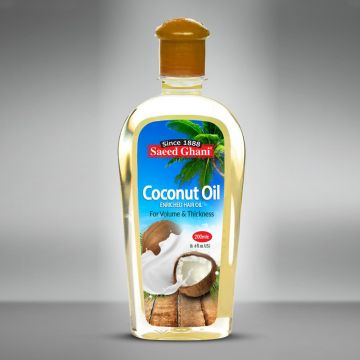 Saeed Ghani Pure & Natural Coconut Oil - 200ml - 8964000507650